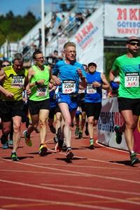 Endaspretturinn. #Aldreieinnáferð. (Ljósm. MarathonPhotos.com).