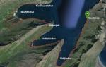 Kort af hlaupaleiðinni (sem stækkar ef smellt er á það).