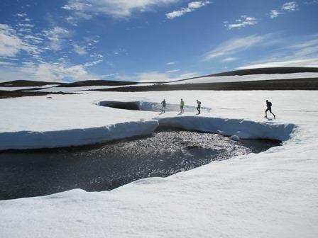 Hamingjuhlaup á Laxárdalsheiði